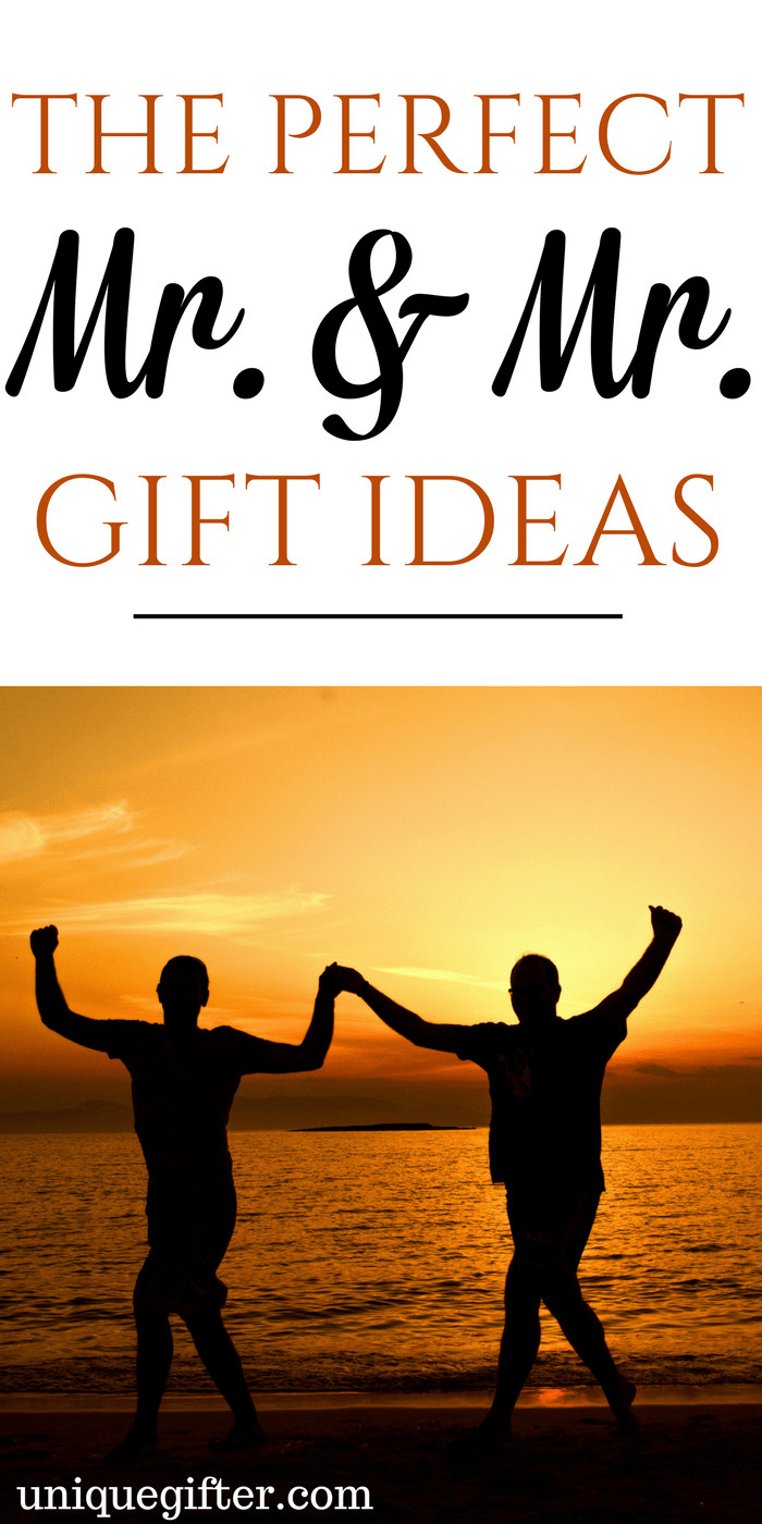 Gay Valentines Gift Ideas  20 Gifts for Mr & Mr Unique Gifter
