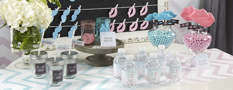 Gender Reveal Party Favor Ideas  Gender Reveal Party Decorations Supplies and Favors
