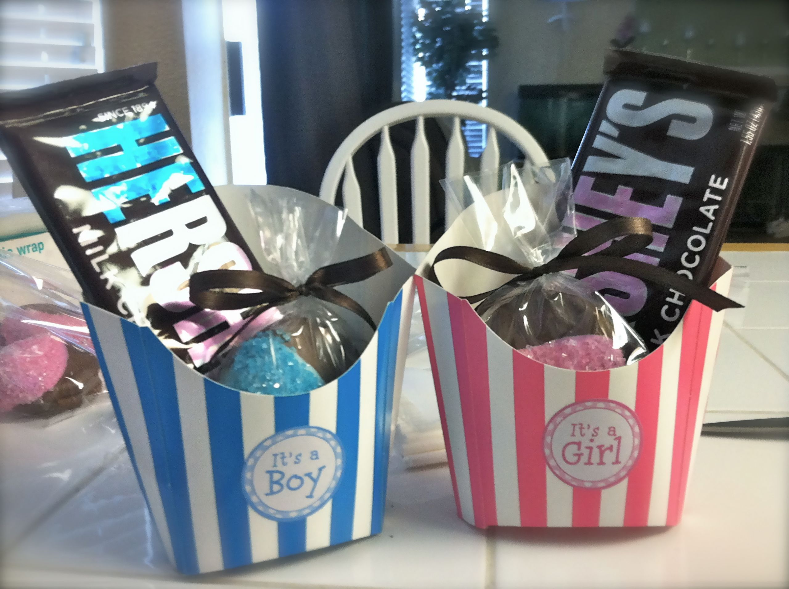 Gender Reveal Party Favor Ideas  Our Gender Reveal Party