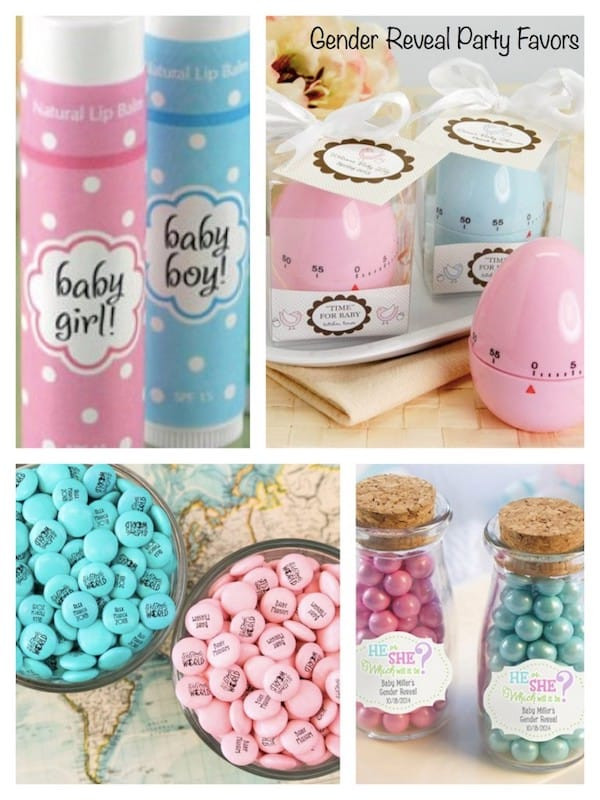 Gender Reveal Party Favor Ideas  10 Baby Gender Reveal Party Ideas