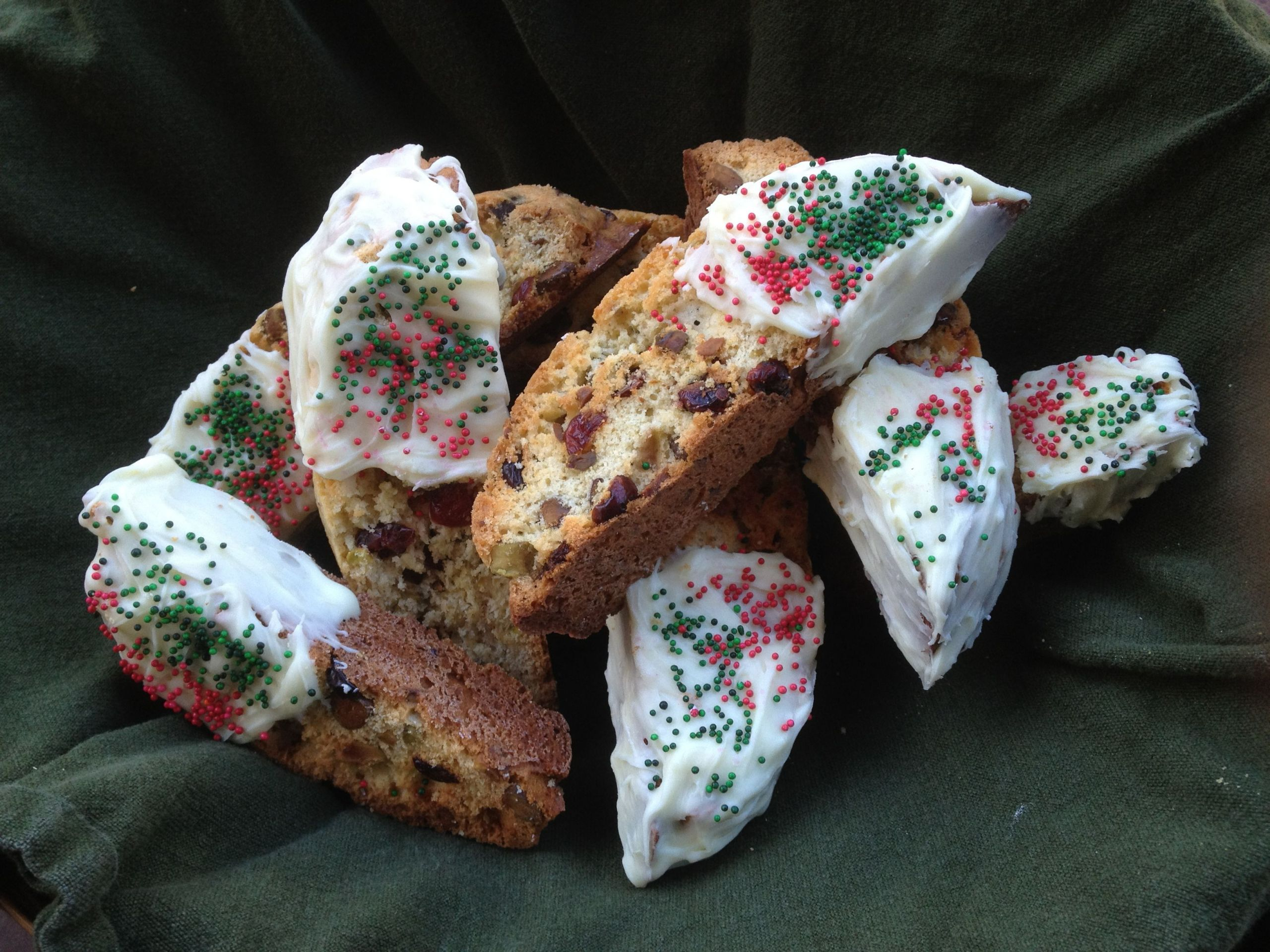 Giada Holiday Biscotti  These are Giada s Holiday Biscotti they were so freakin