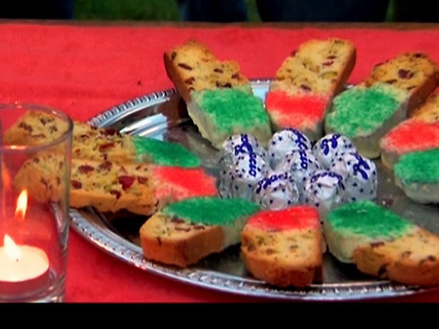 Giada Holiday Biscotti  Giada Recipes Holiday Biscotti