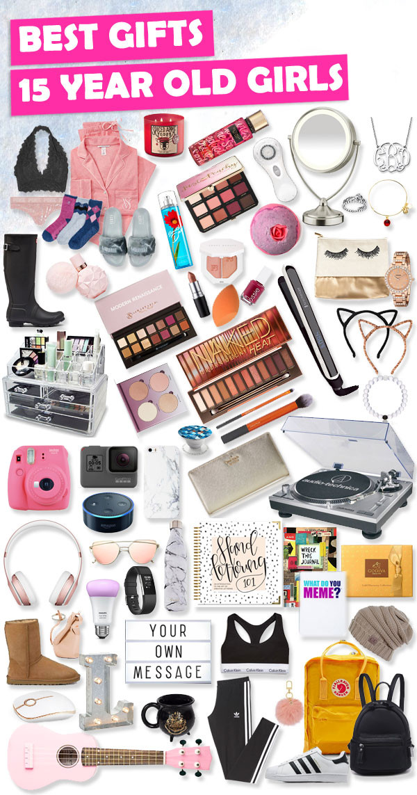 Gift Ideas For 15 Year Old Girls  Gifts for 15 Year Old Girls