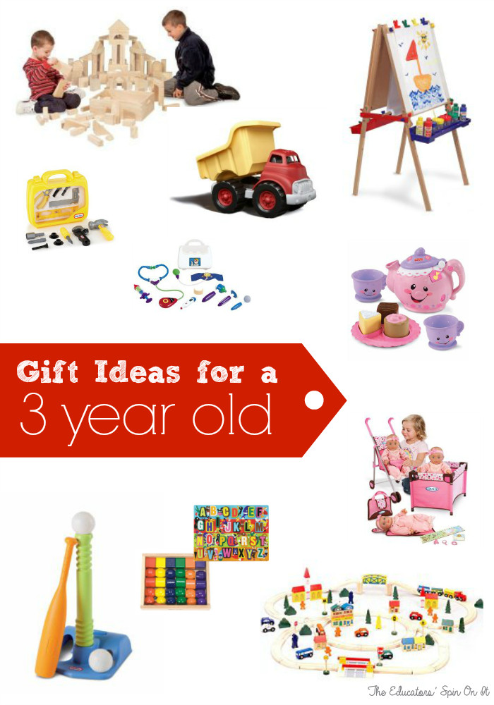 Gift Ideas For 3 Year Old Boys  Birthday Gift Ideas for Three Years Old