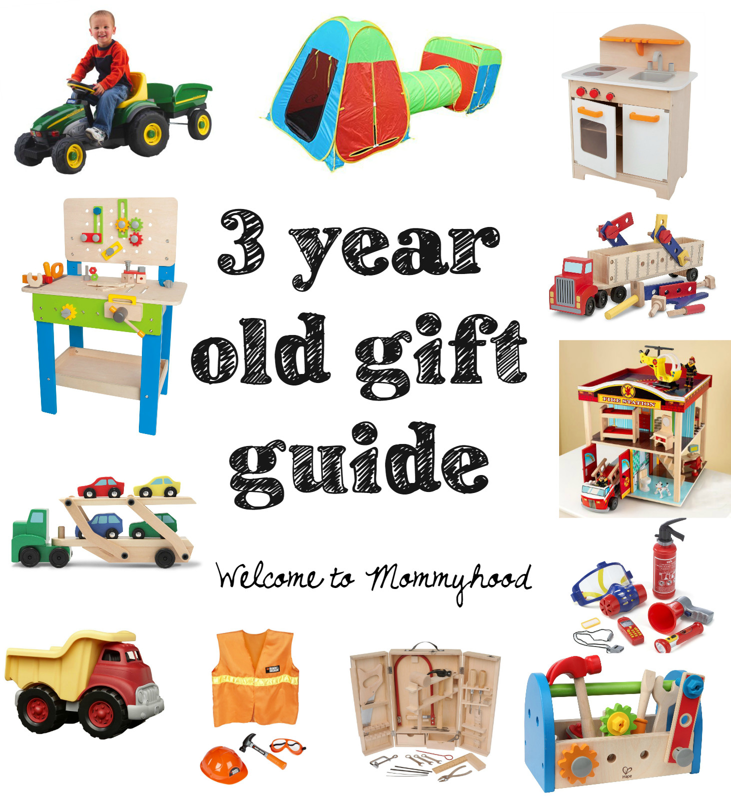 Gift Ideas For 3 Year Old Boys  Birthday t ideas for a 3 year old