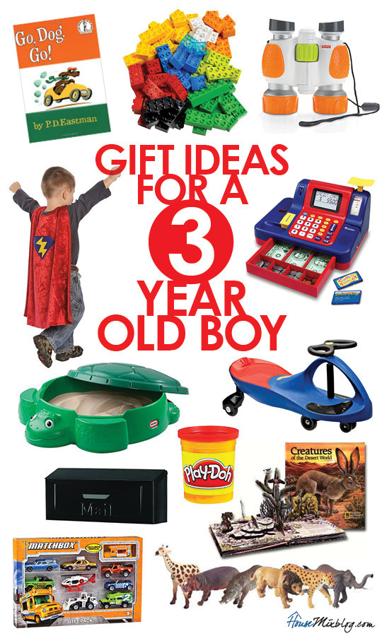 Gift Ideas For 3 Year Old Boys  ts