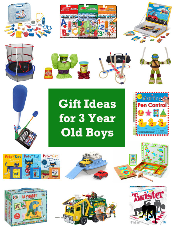 Gift Ideas For 3 Year Old Boys  15 Gift Ideas for 3 Year Old Boys [2016]