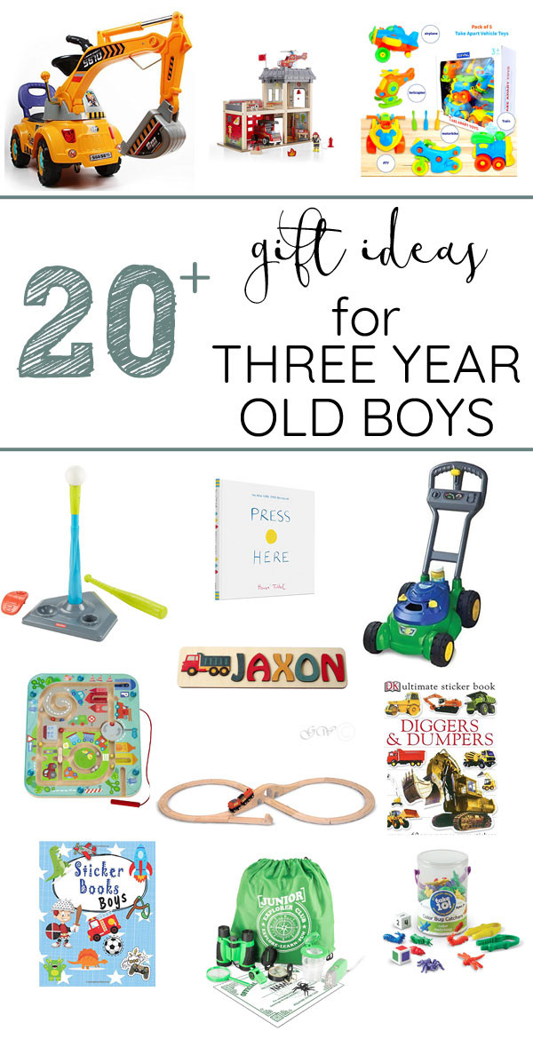 Gift Ideas For 3 Year Old Boys  Gift ideas for 3 year old boys