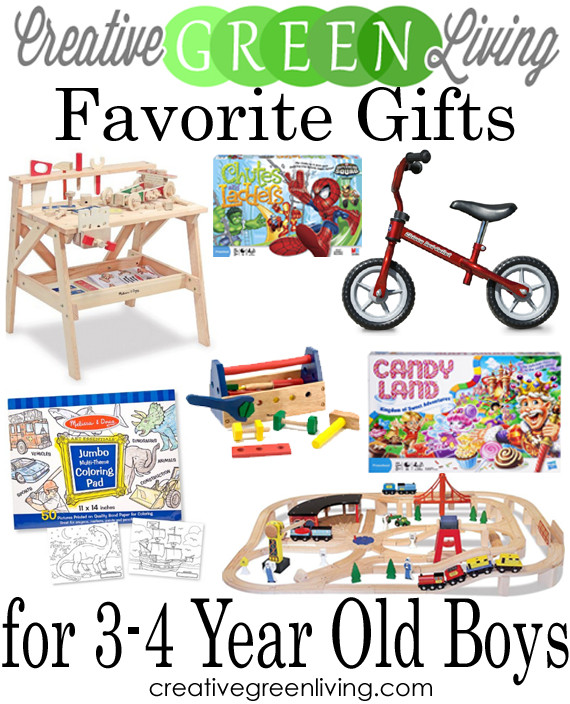 Gift Ideas For 3 Year Old Boys  15 Hands Gifts for 3 4 Year Old Boys Creative Green