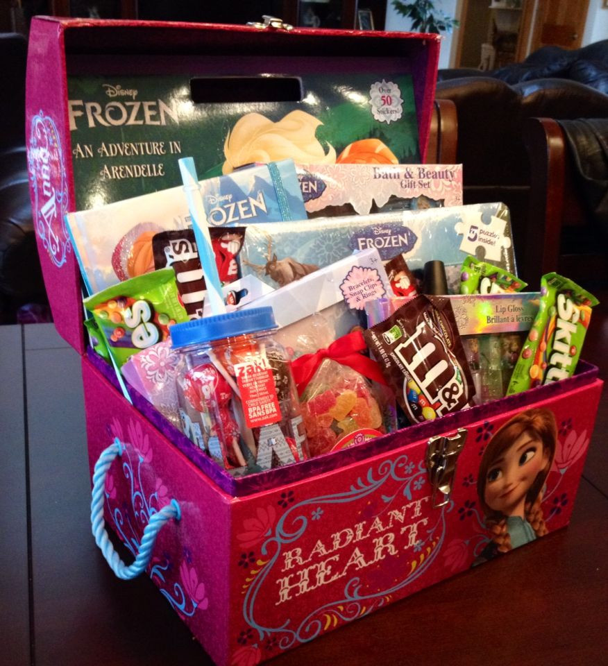 Gift Ideas For 4 Year Old Girls  4 6 year old girl t basket