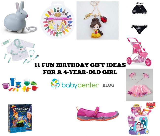 Gift Ideas For 4 Year Old Girls  11 super fun birthday t ideas for a 4 year old girl