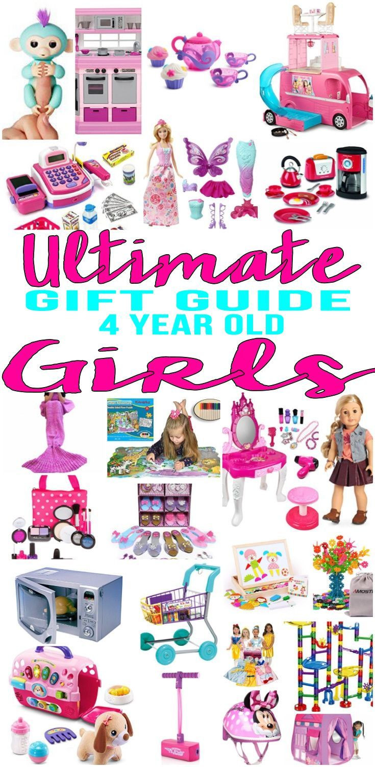Gift Ideas For 4 Year Old Girls  Best Gifts 4 Year Old Girls Will Love