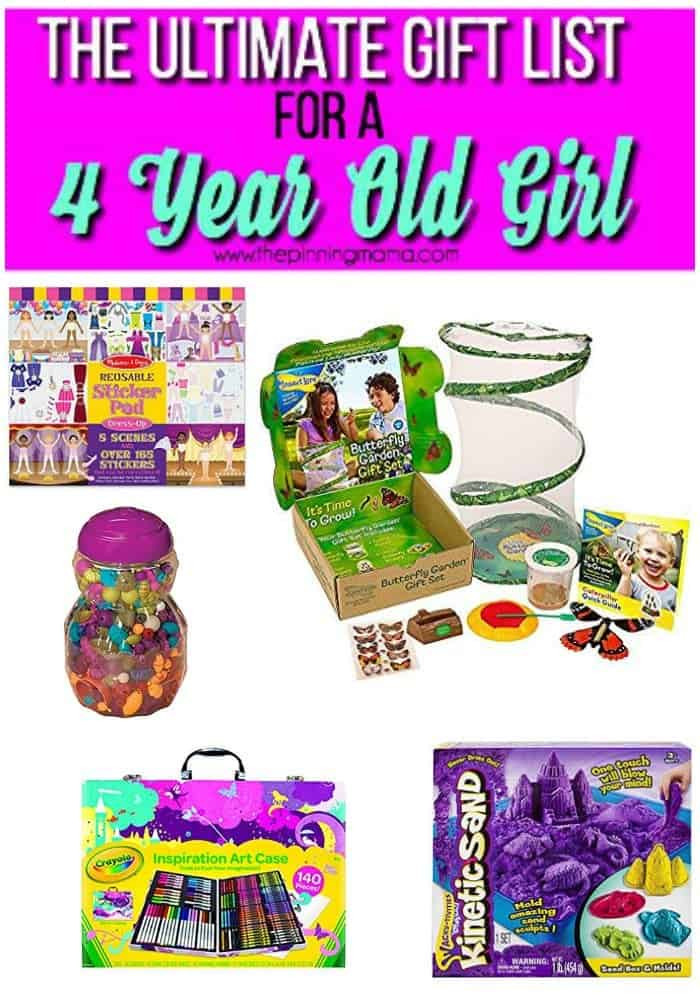 Gift Ideas For 4 Year Old Girls  Best Gifts for a 4 year old Girl • The Pinning Mama