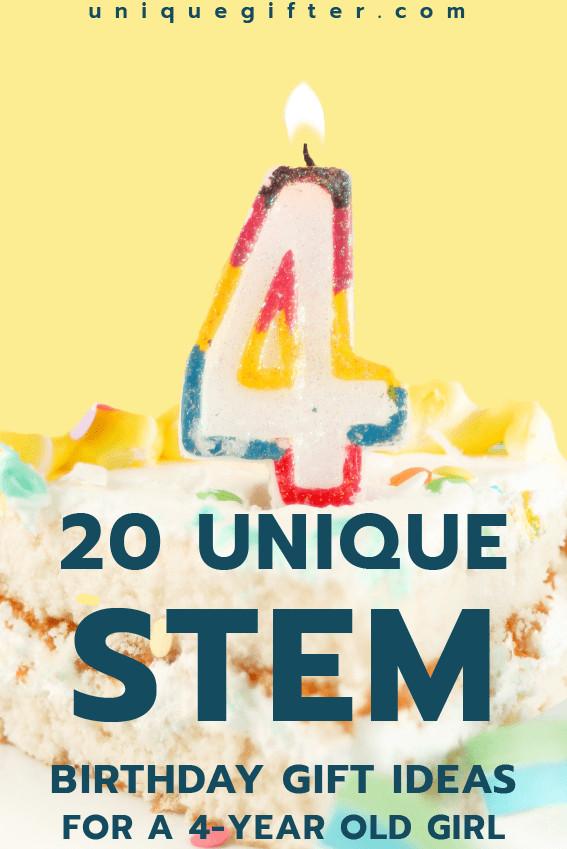 Gift Ideas For 4 Year Old Girls  20 STEM Birthday Gift Ideas for a 4 Year Old Girl Unique