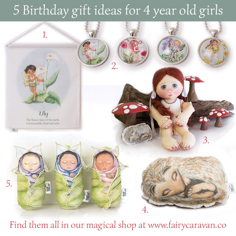 Gift Ideas For 4 Year Old Girls  Magical birthday ts for 4 year old girls Fairy Caravan