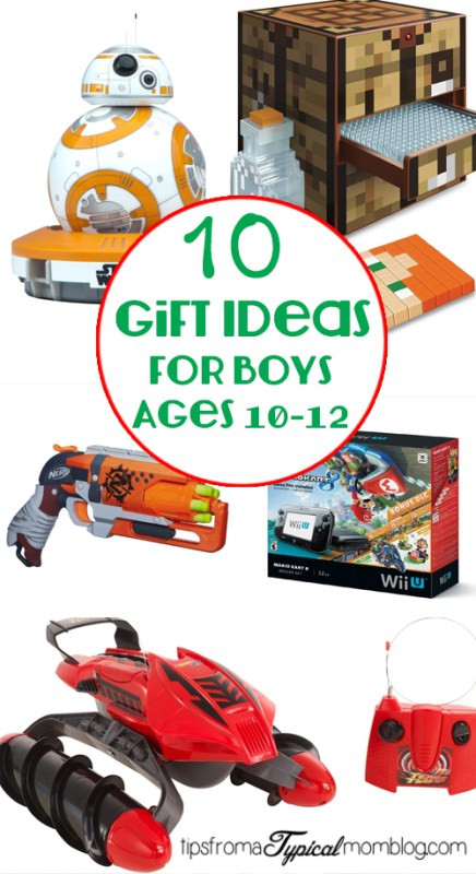 Gift Ideas For Boys 10  10 Gifts for Boys ages 10 12 Tips from a Typical Mom