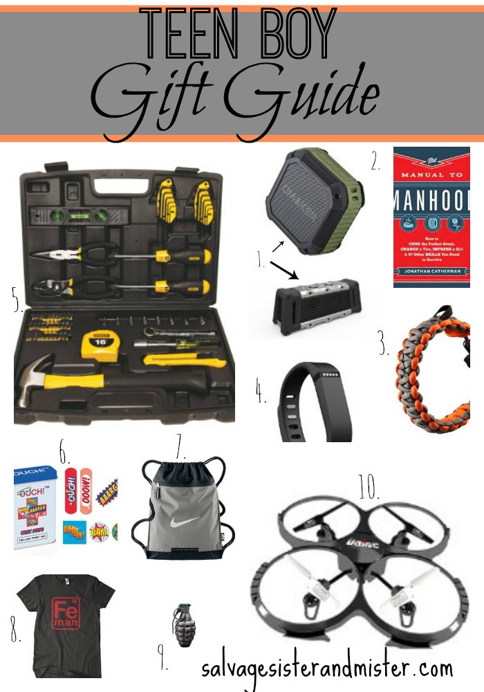 Gift Ideas For Boys 10  Teen Boy Gift Guide Salvage Sister and Mister