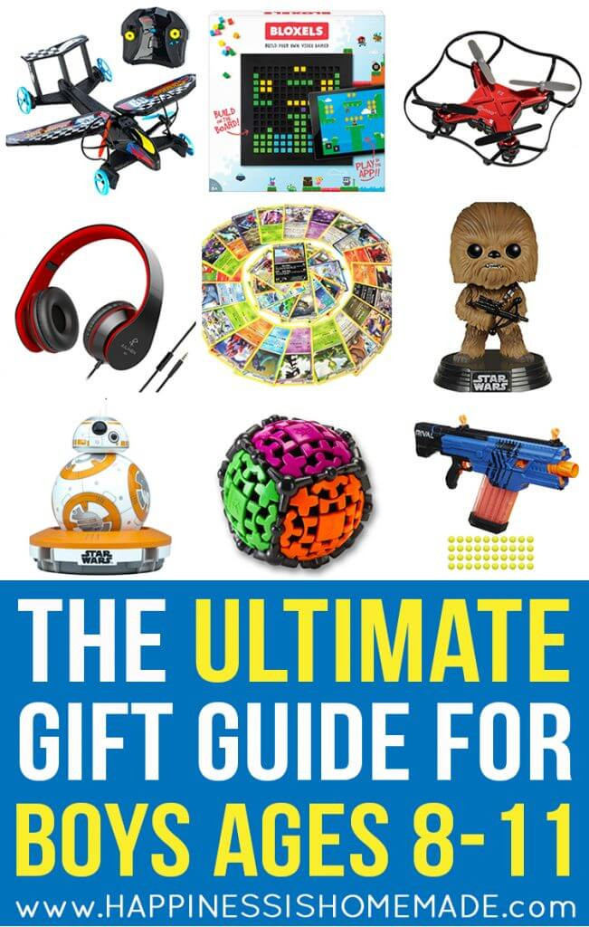 Gift Ideas For Boys 10  The Best Gift Ideas for Boys Ages 8 11 Happiness is Homemade
