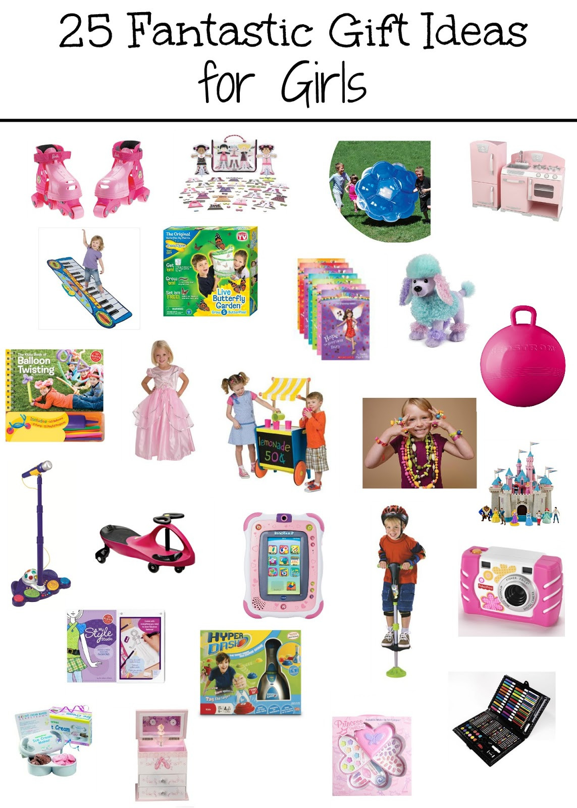 Gift Ideas For Girls  It s a Princess Thing 25 Fantastic Gift Ideas for Girls