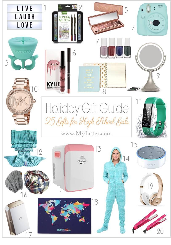 Gift Ideas For Girls  Gift Ideas for High School Girls MyLitter e Deal At