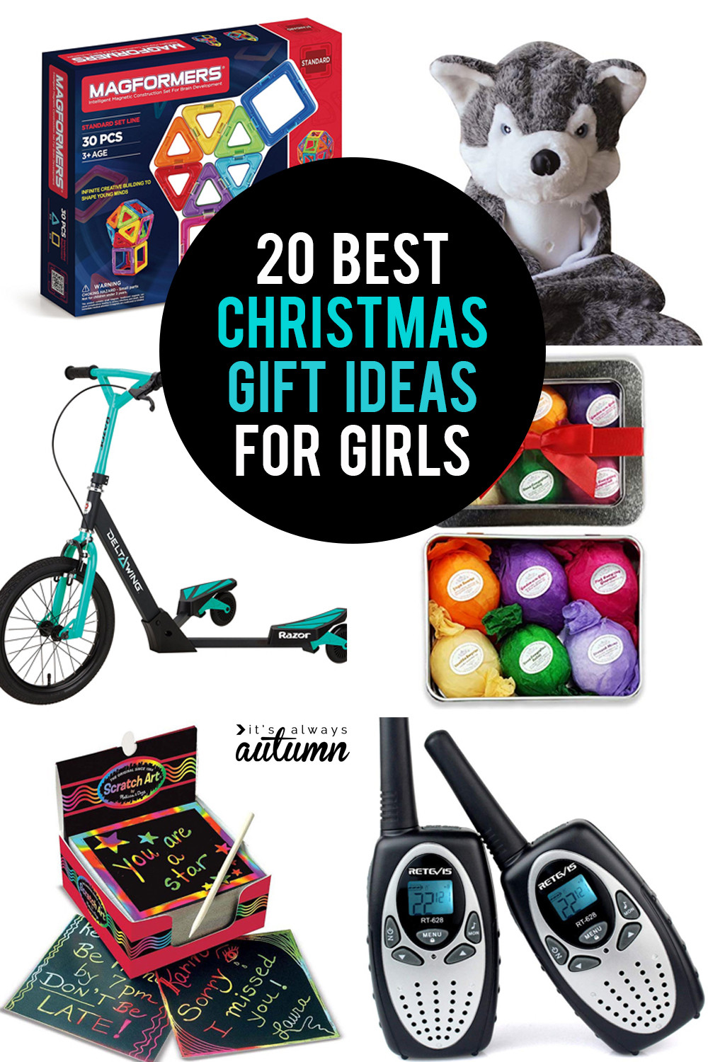 Gift Ideas For Girls  The 20 best Christmas ts for girls It s Always Autumn