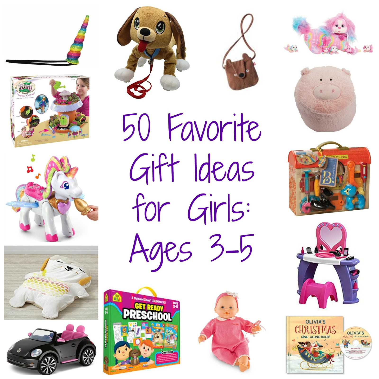 Gift Ideas For Girls  50 Favorite Gift Ideas for Girls Ages 3 5 The Chirping Moms