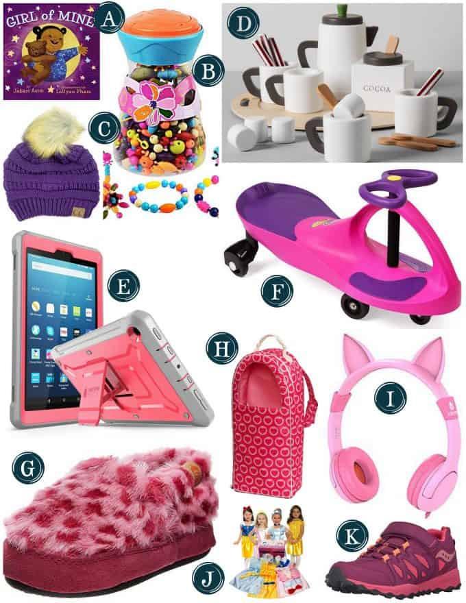 Gift Ideas For Girls  Gift Guide for Little Girls Christmas Gift Ideas for Girls