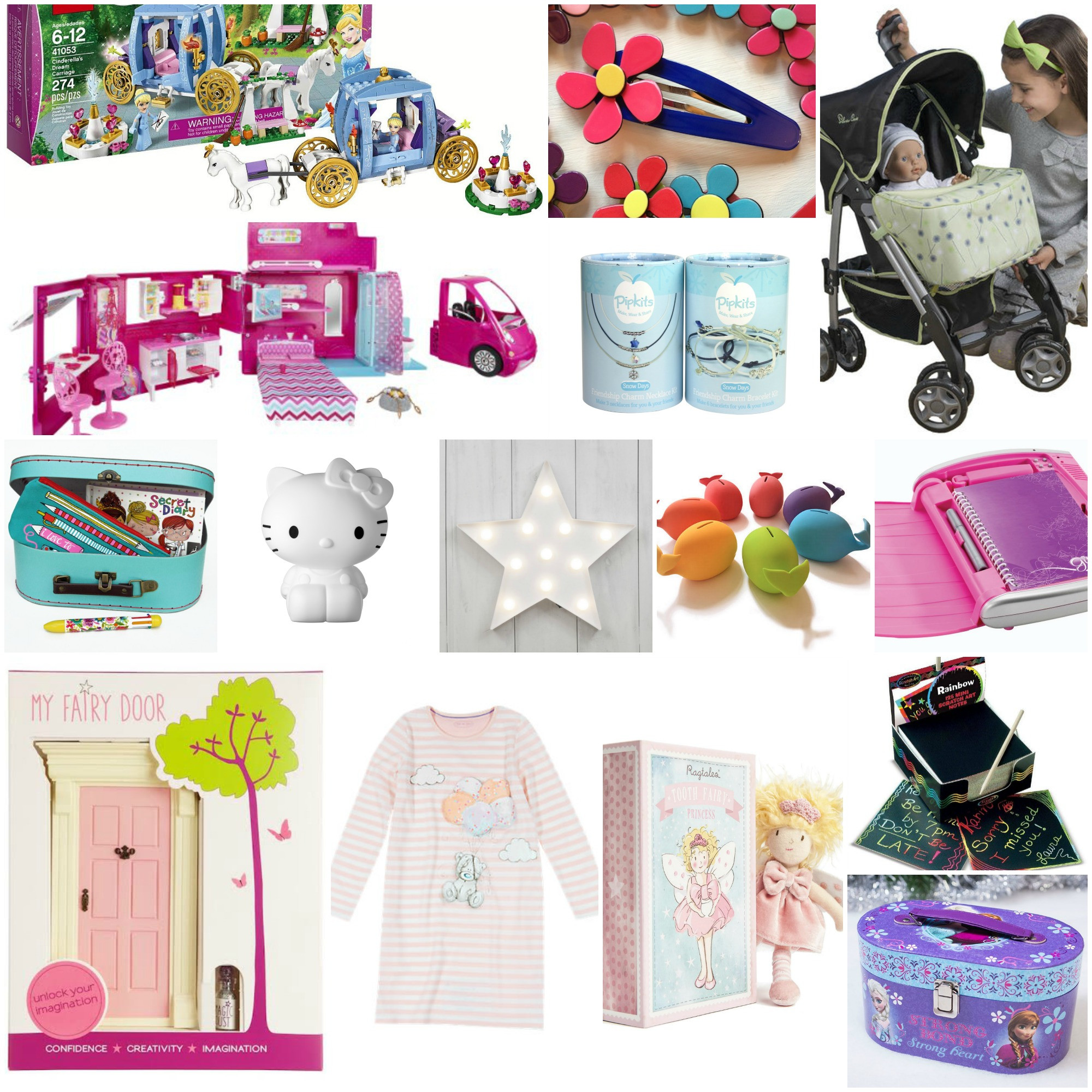 Gift Ideas For Girls  Gifts For Girls Age 6 Notes to Self