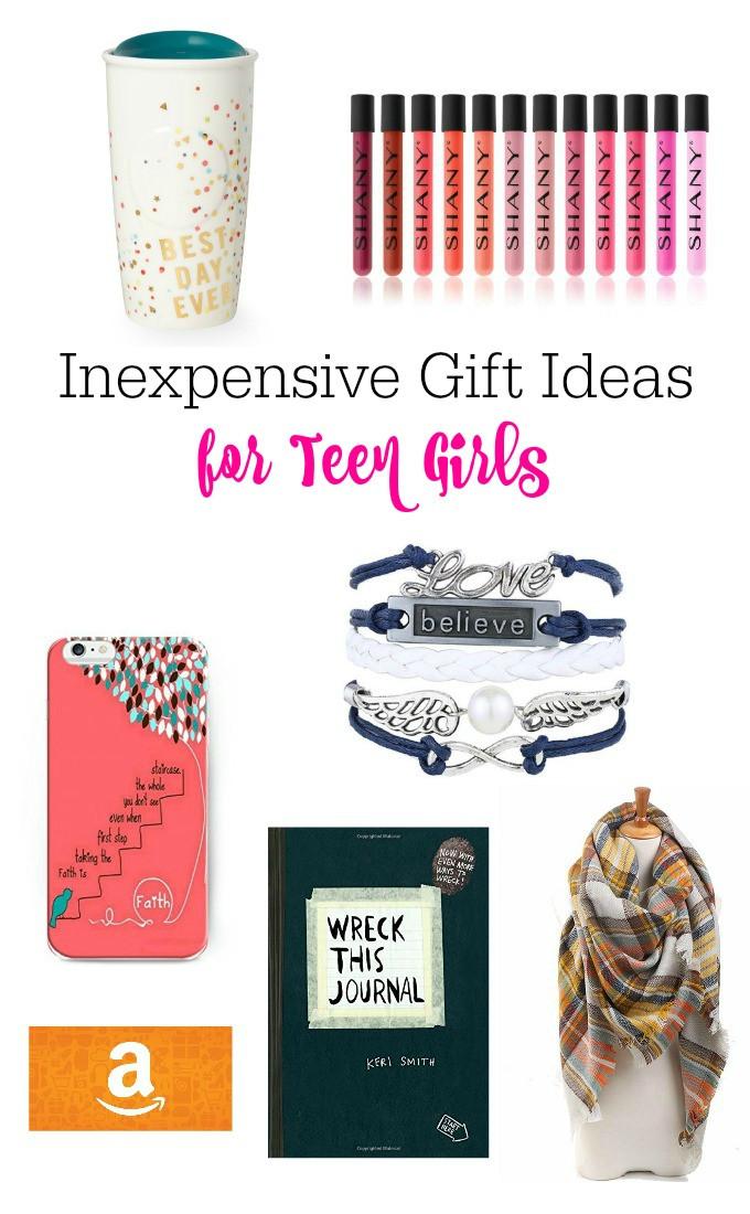 Gift Ideas For Girls  Inexpensive Gift Ideas For Teen Girls