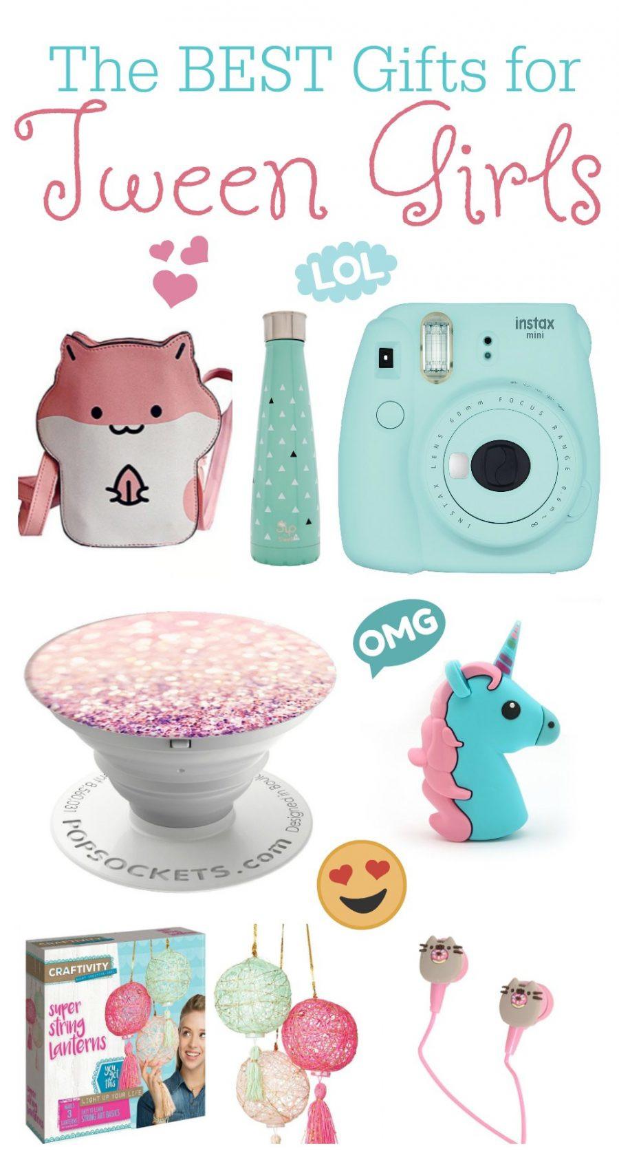 Gift Ideas For Girls  The BEST Gift Ideas for Tween Girls
