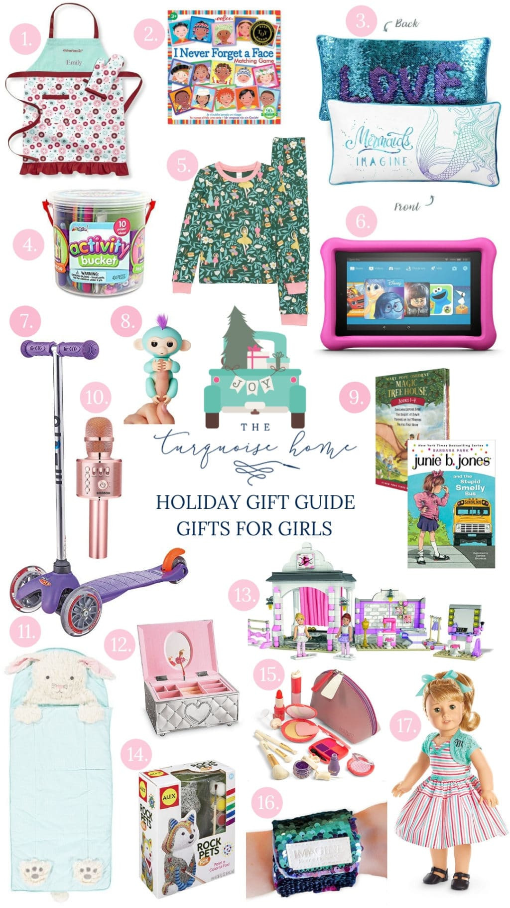 Gift Ideas For Girls  Best Gifts for Elementary Aged Girls