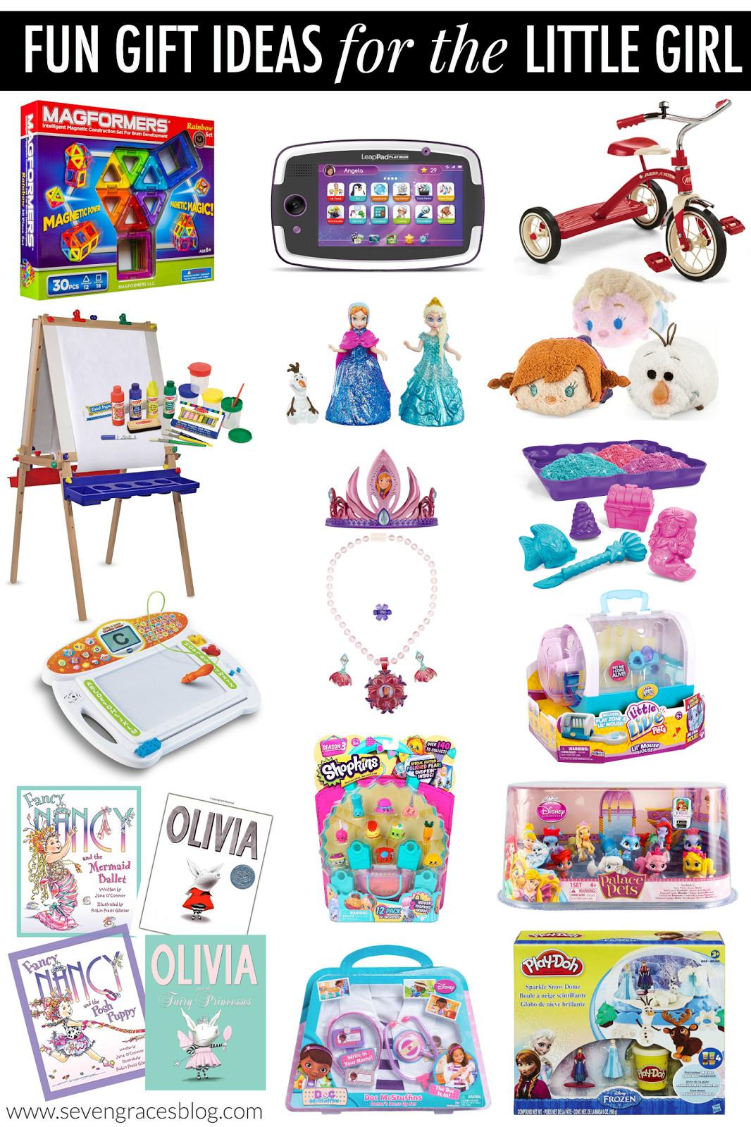 Gift Ideas For Girls  Christmas Gift Ideas for the Little Girl Seven Graces