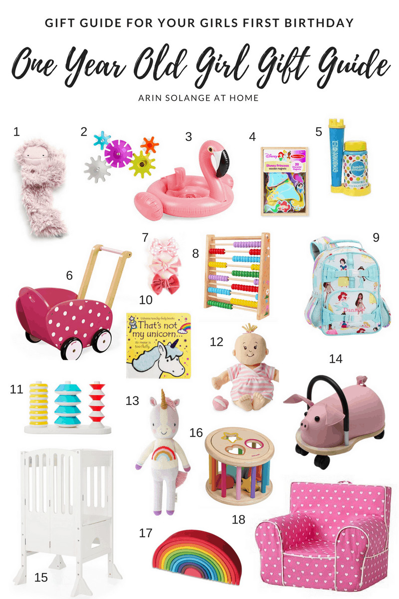 Gift Ideas Girls  e Year Old Girl Gift Guide arinsolangeathome
