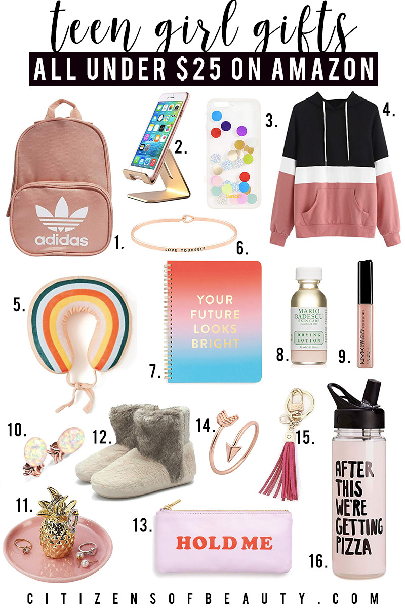 Gift Ideas Girls  70 Teen Girl Gifts Under $25 on Amazon Citizens of Beauty