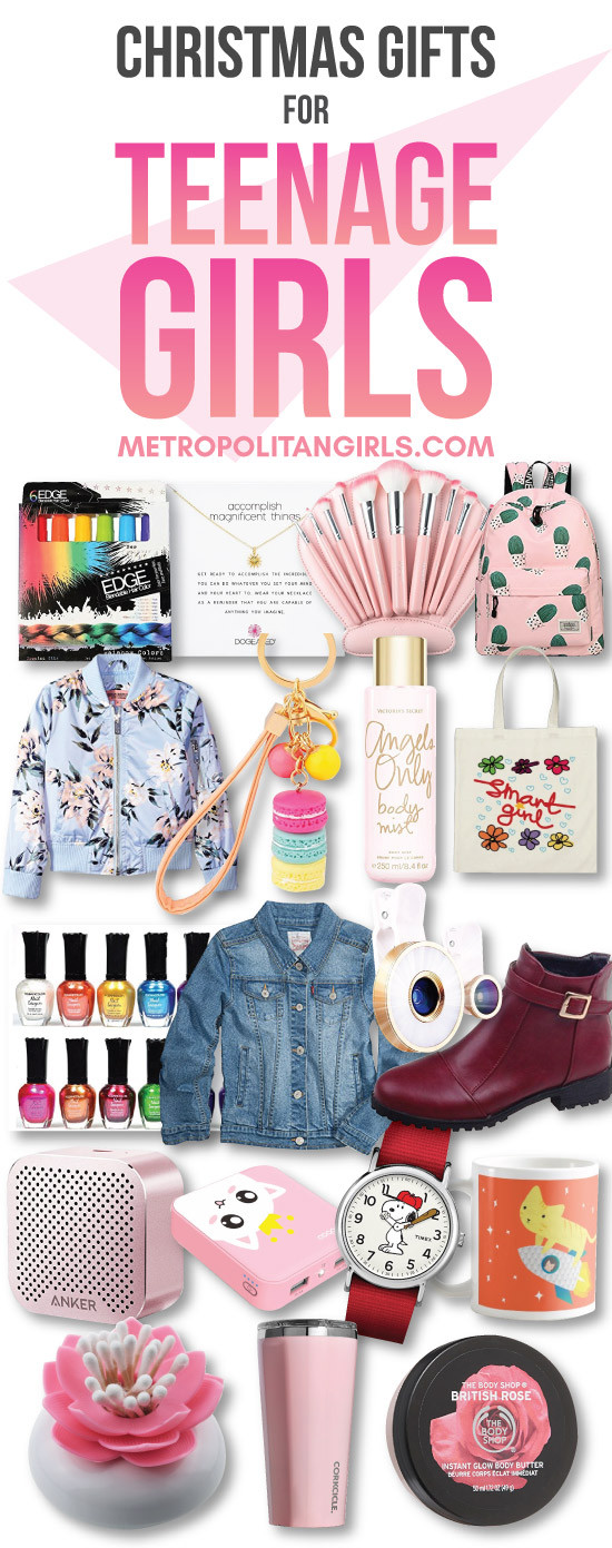 Gift Ideas Girls  Top 20 Christmas Gift Ideas for Teenage Girls 2019