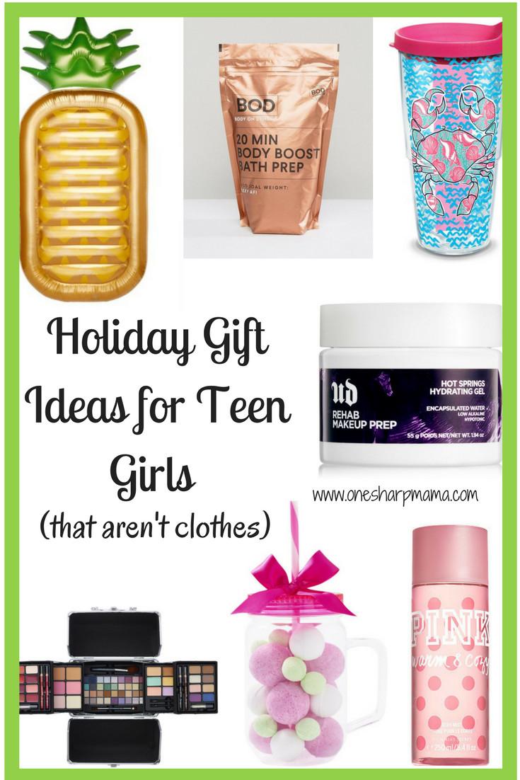 Gift Ideas Girls  Teen Girl Holiday Gift Ideas 2017 e Sharp Mama