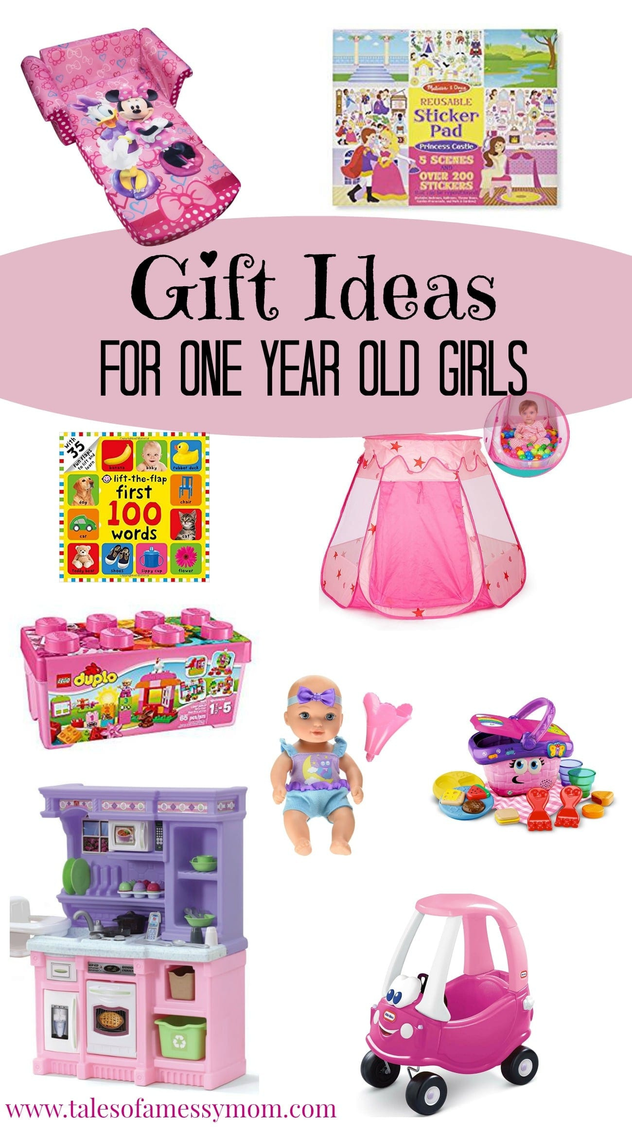 Gift Ideas Girls  Gift Ideas for e Year Old Girls Tales of a Messy Mom
