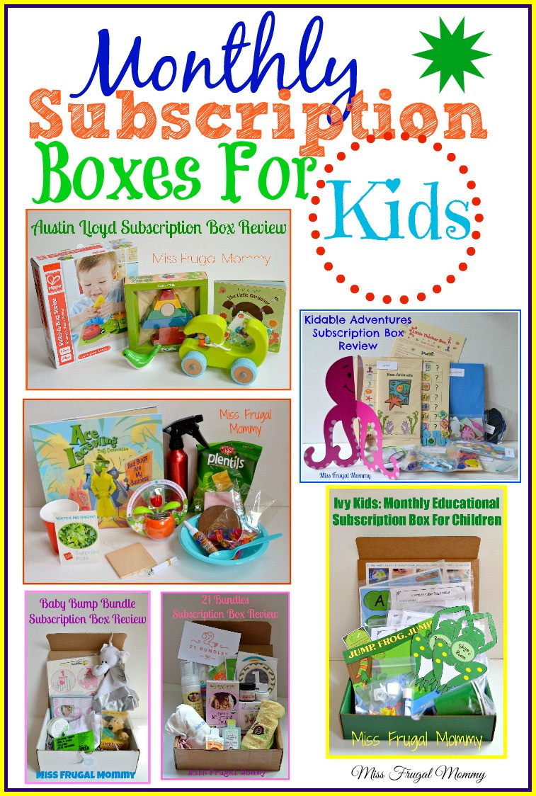 Gift Subscription For Kids  Must Have Monthly Subscription Boxes For Kids – Miss