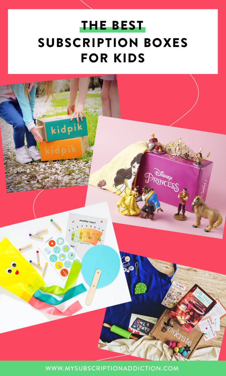 Gift Subscription For Kids  The Best Subscription Boxes for Kids – 2019 Readers