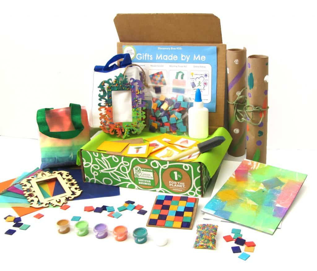 Gift Subscription For Kids  Green Kid Crafts Subscription Box Review