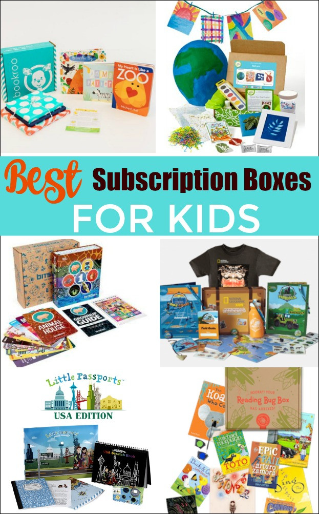 Gift Subscription For Kids  BEST Subscription Boxes for Kids Mess for Less