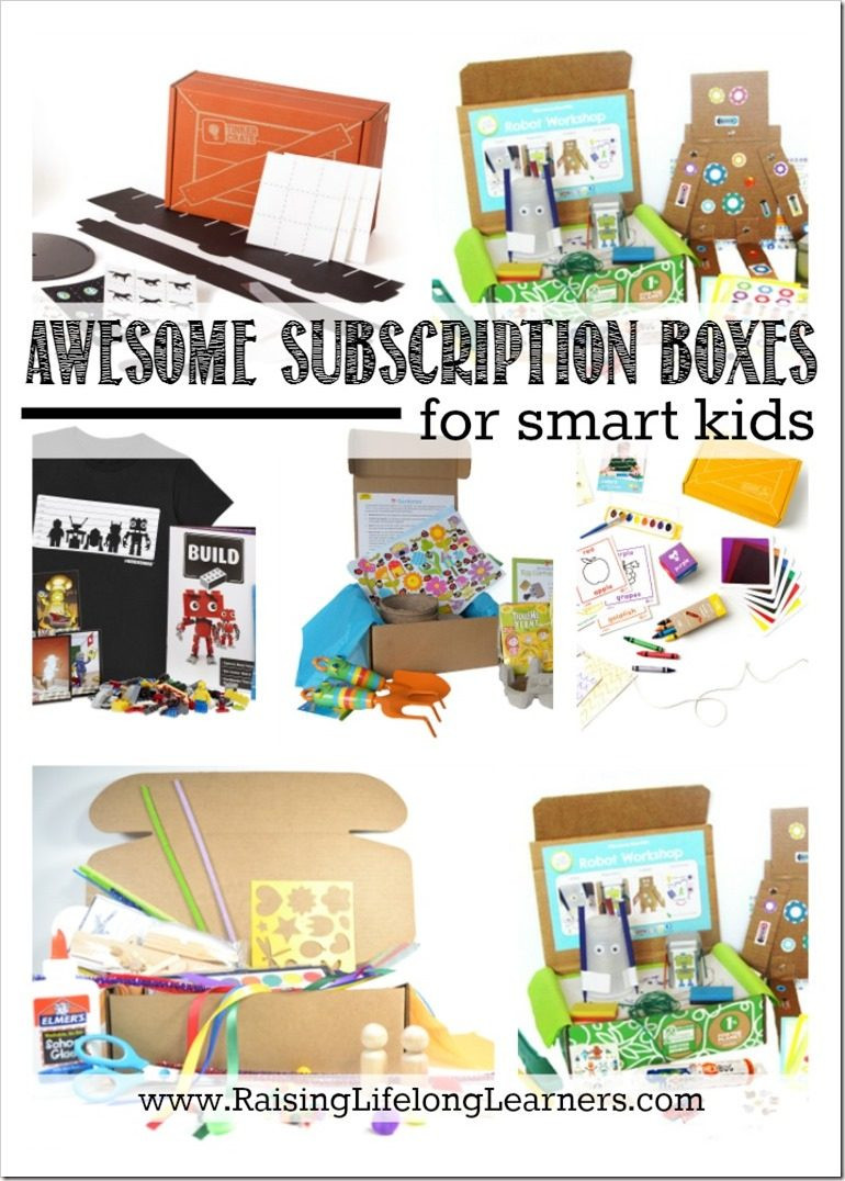 Gift Subscription For Kids  Gifts for Gifted Kids