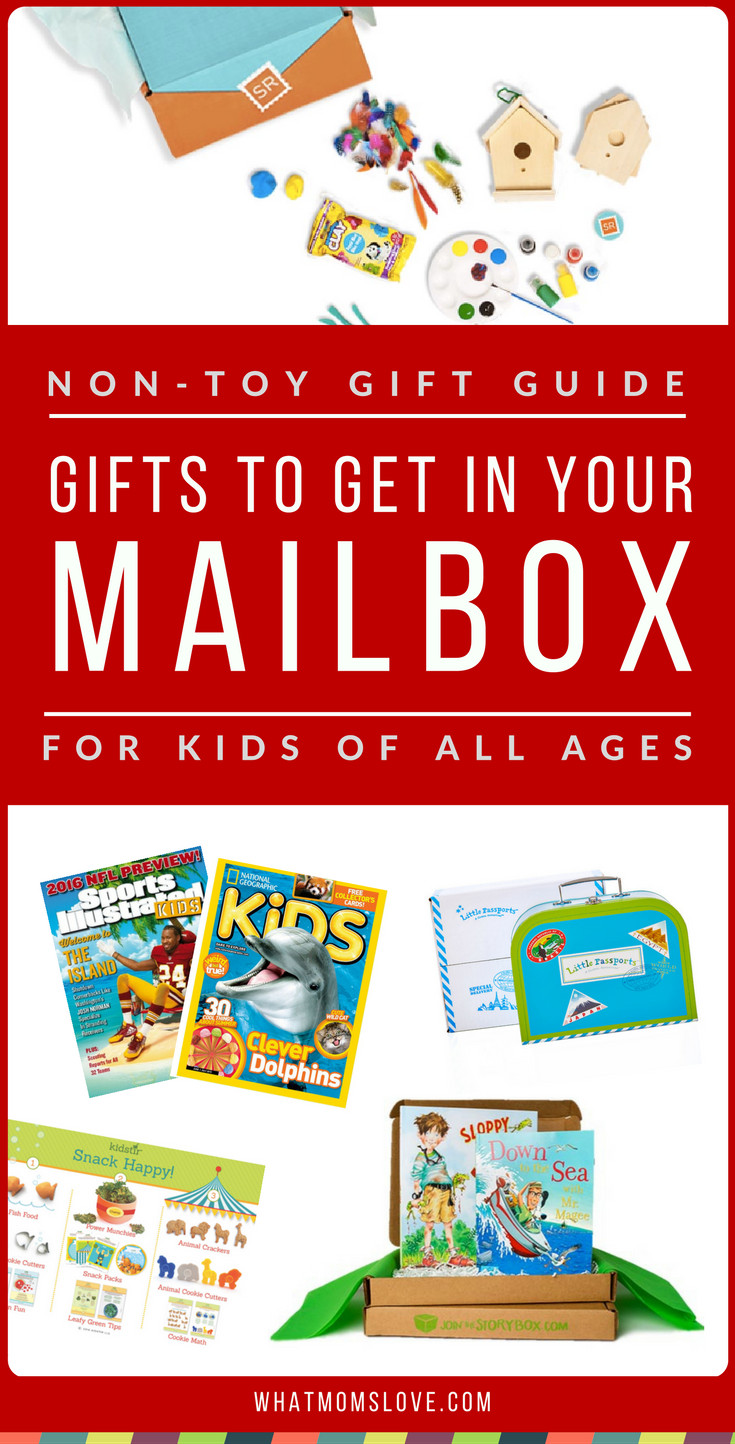 Gift Subscription For Kids  Non Toy Gift Guide The Best Subscription Boxes