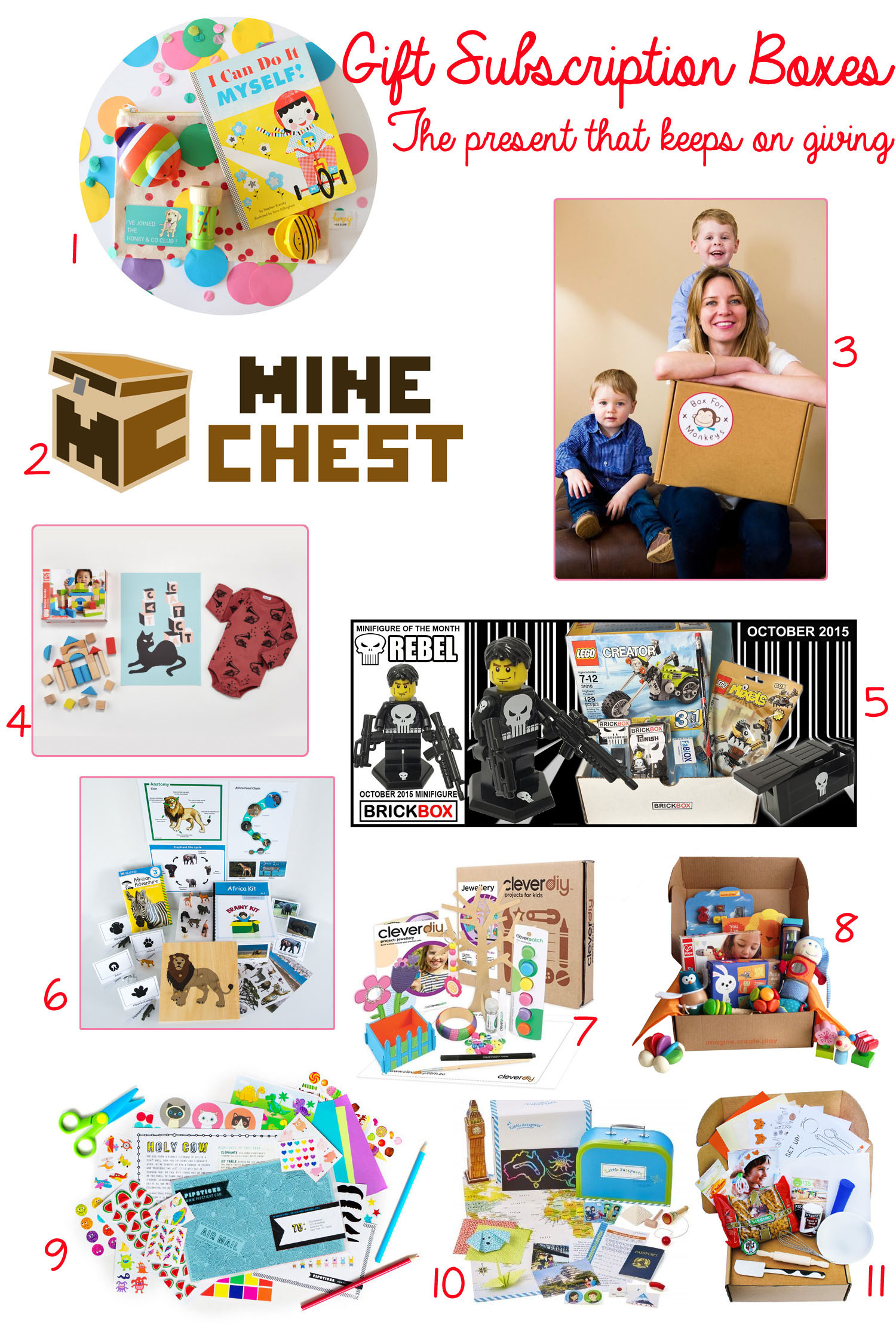 Gift Subscription For Kids  Gift Subscription Boxes For Kids The Present That Keeps