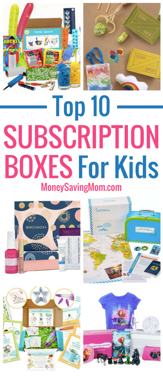 Gift Subscription For Kids  The Top 10 Subscription Boxes for Kids Money Saving Mom