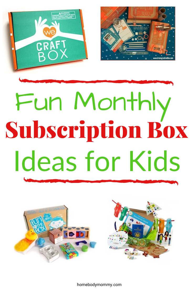 Gift Subscription For Kids  Monthly Subscription Boxes for Kids Fun Gift Ideas