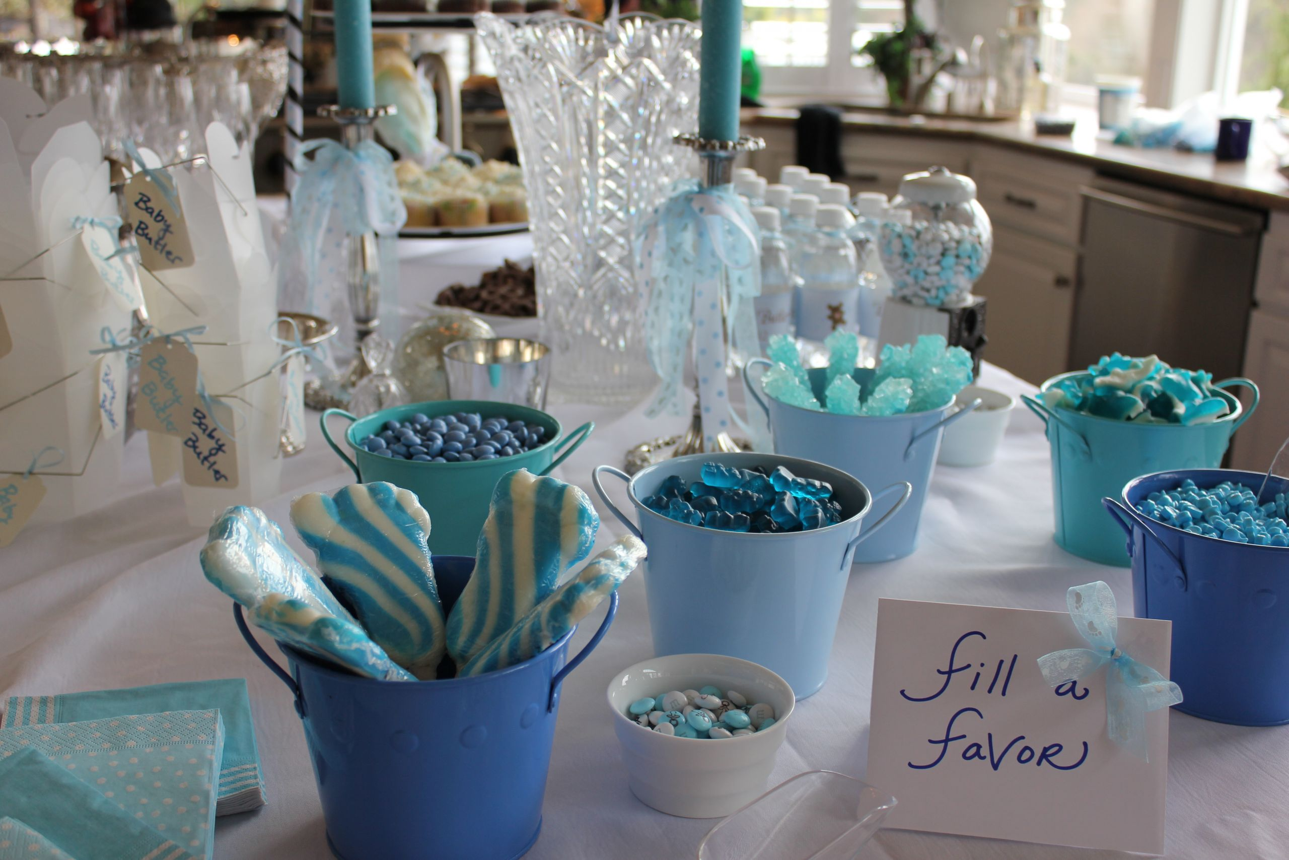 Gift Table Baby Shower Ideas  Throwing a Baby Shower for a Boy