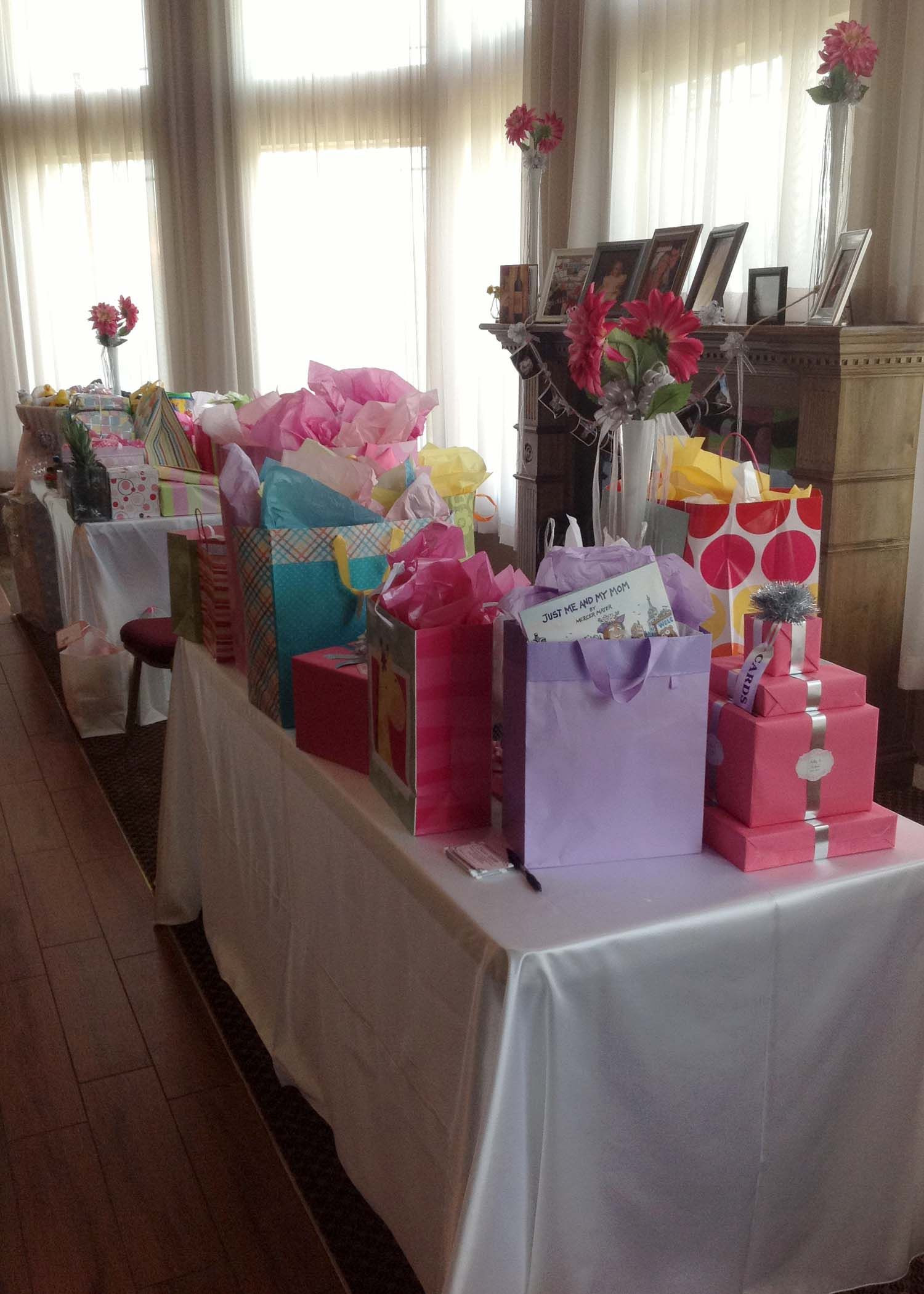 Gift Table Baby Shower Ideas  Gift Table
