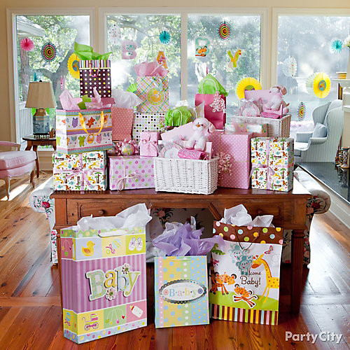 Gift Table Baby Shower Ideas  Jungle Baby Shower Gift Table Idea Jungle Animals Baby