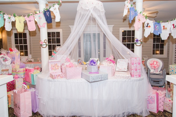 Gift Table Baby Shower Ideas  Gorgeous Gorgeous Minnie Mouse Baby Shower Pretty My